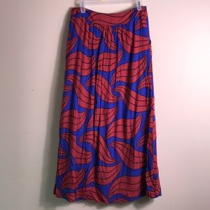 Boden US Size 6 Maxi Skirt Lined
